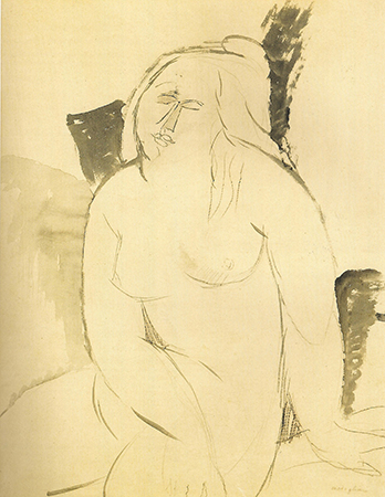 Amedeo Modigliani 1914-16