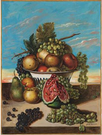 Giorgio De Chirico anni 60 olio su tela 80 x 60 cm 3