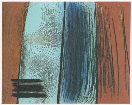 Hans Hartung 1971 acrilico su tela 81x100 cm 2
