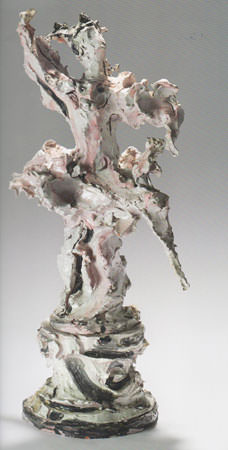 Lucio Fontana 1952 ceramica 88x41x32.-5 cm 1