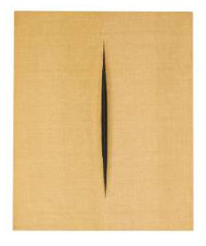 Lucio Fontana 1968 Olio su tela 61.4x50.3 cm 4