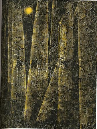 Max Ernst 1956 olio su tela 61 x 46 cm 1