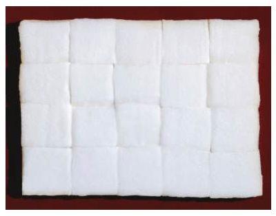 Piero Manzoni 1961 cotone idrofilo a riquadri 40x29 cm 1