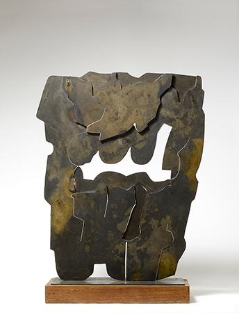 Pietro Consagra 1966 bronzo 80 x 66 cm ed 1 of 2 1