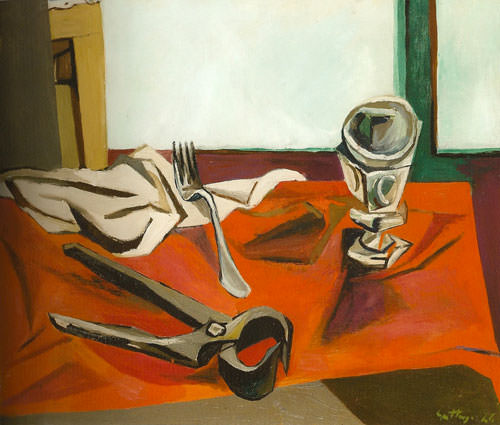 Renato Guttuso 1946 olio su tela 55x652 cm 1