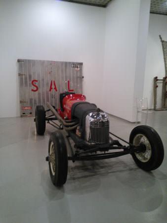 Salvatore Scarpitta 1968-1969 auto da corsa 122x353x170 cm 2