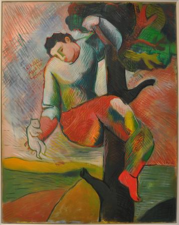Sandro Chia 2002 olio su tela 162 x 130 cm 1