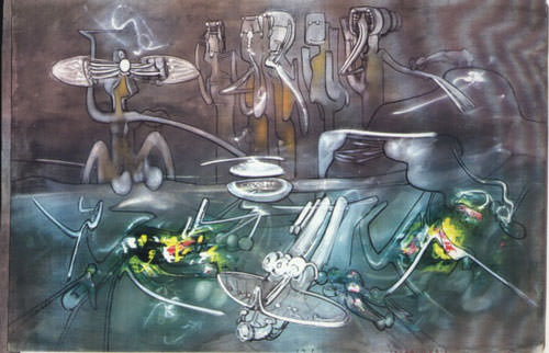 Sebastian Matta 1969 Olio su tela  200x300 cm 1