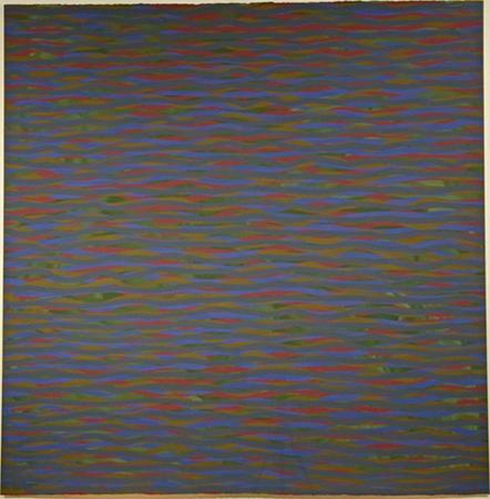 Sol Lewitt gouache su carta 152.4 x 149.9 cm 1