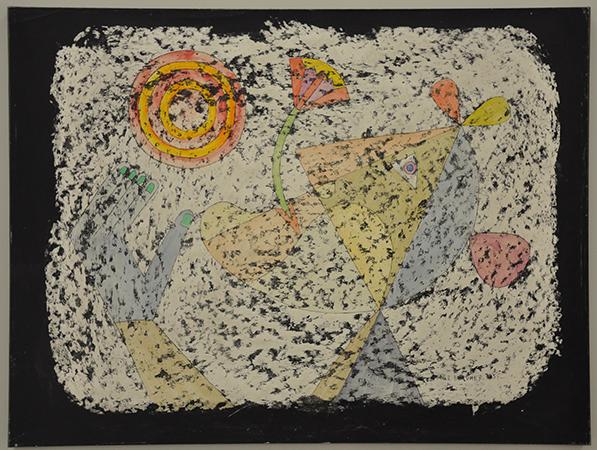 Victor Brauner 1955 Paraffina su carta 49.5 x 65cm 1
