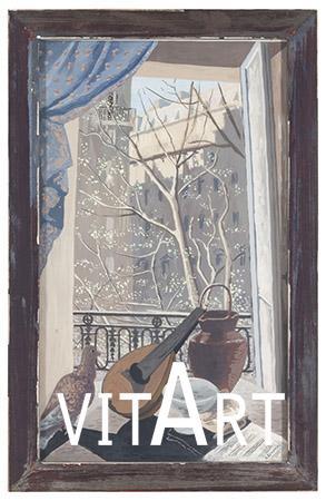 Gino Severini 1929 Tempera su carta 47 x 28 cm 2